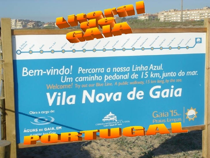 Litoral de GAIA PORTUGAL