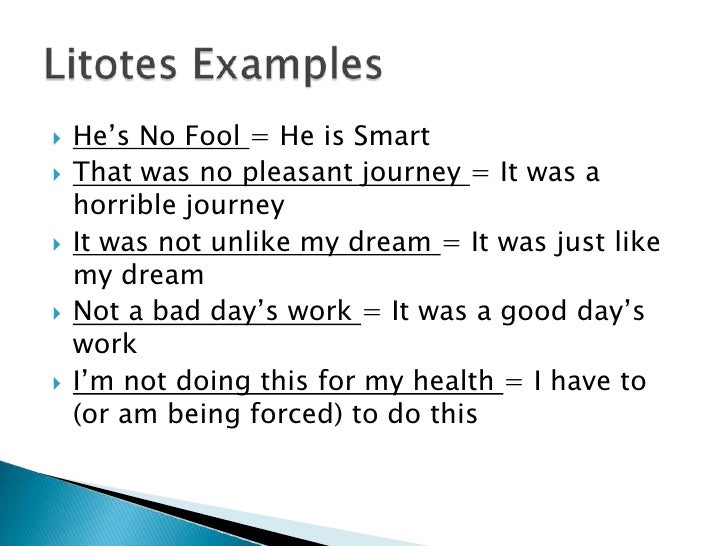 Understatement & Litotes: Differences, Definitions & Examples ...