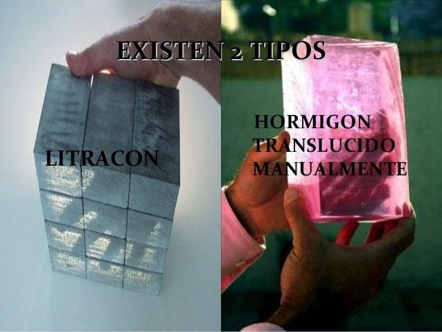 Litracon for Hormigon traslucido