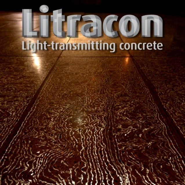 The patent protected Litracon® products present the phenomenon of light transmitting concrete in form of widely applicable...