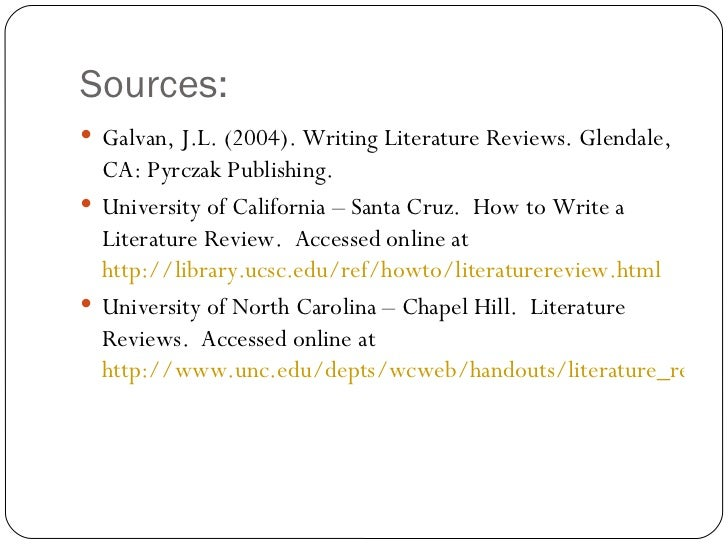 galvan j.l. (1999). writing literature reviews Galvan, jl (1999) writing literature reviews 5th edition (2001) course syllabusdoc: manuals and ebooks about writing literature reviews by galvan.