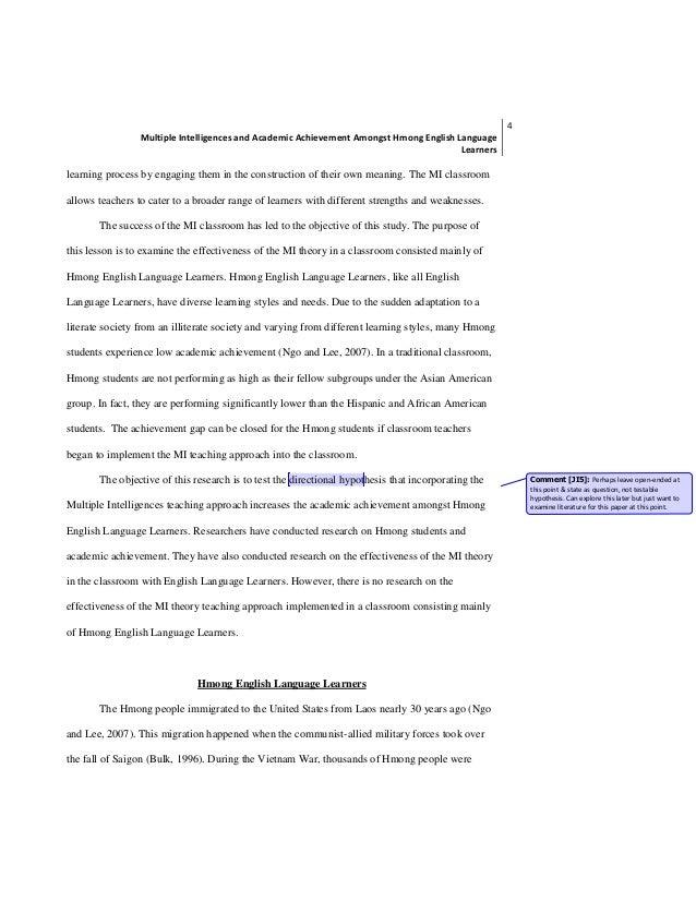multiple intelligence article multiple intelligences