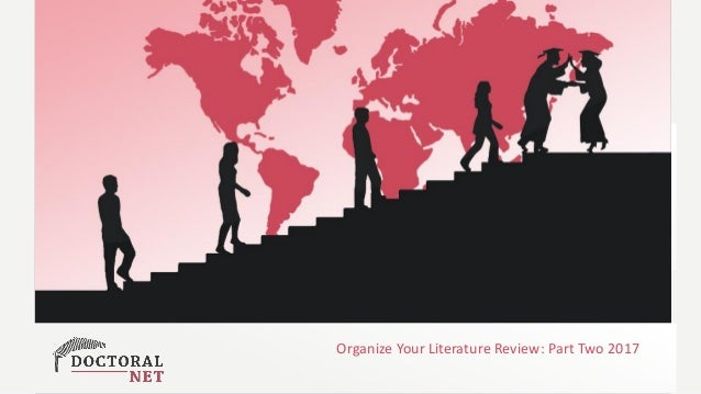 Exploiting Rapid Change in Technology Enhanced Learning … for Post Graduate Education Organize Your Literature Review: Par...
