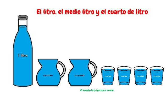 El litro, el medio litro y el cuarto de litro El sonido de la hierba al crecer