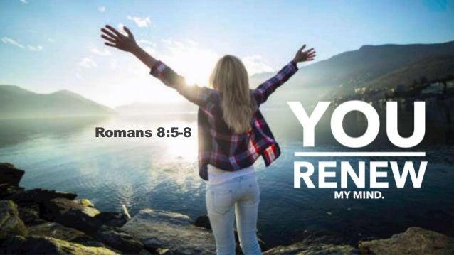 Romans 8:5-8