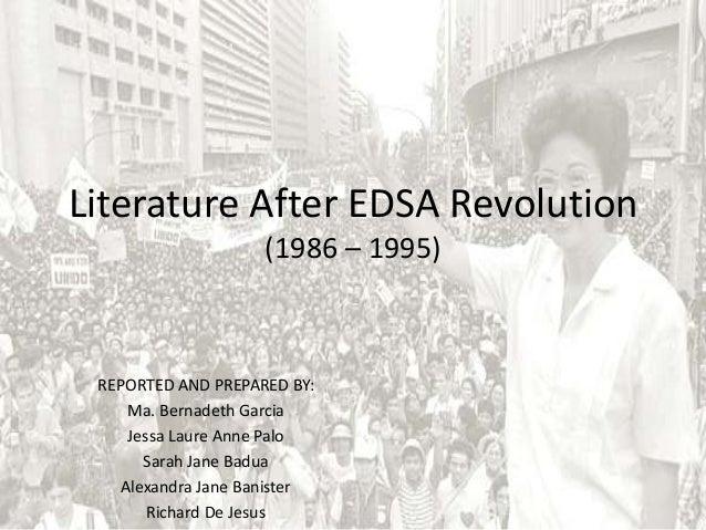 reaction paper about edsa revolution
