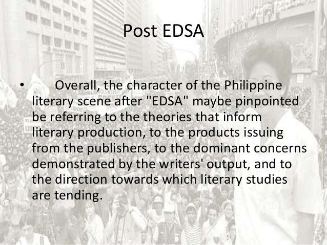 edsa revolution tagalog essay Sample people power revolution essay sign in the 1986 edsa revolution the common filipino who took part in the revolution had many hope and expectations.