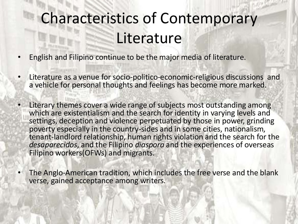 breif summary of philippine literature Read this essay on summary philippine literature come browse our large digital warehouse of free sample essays philippine competition act - brief summary.