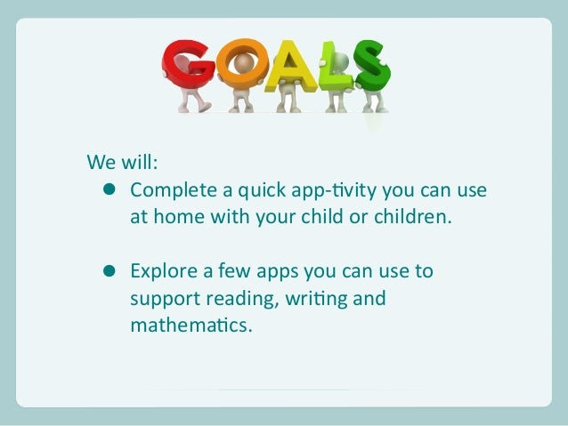 App-tivities to Support Learning at Home