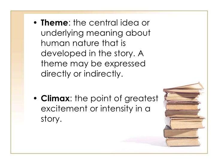 central idea in literature