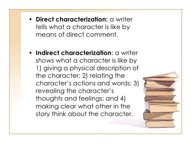 what is direct characterization
