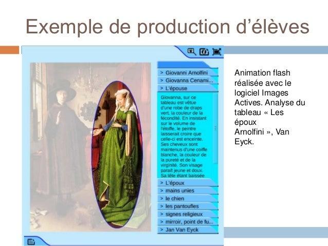 Exemple de production d'élèves                      Animation flash                      réalisée avec le                 ...