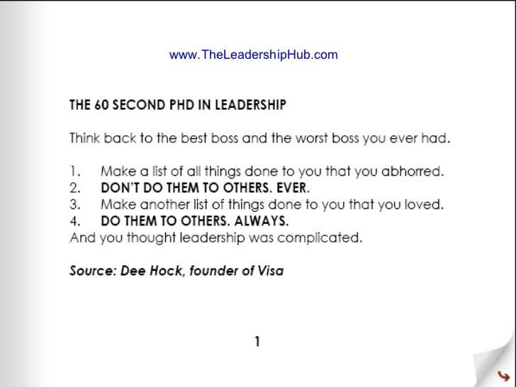www.TheLeadershipHub.com