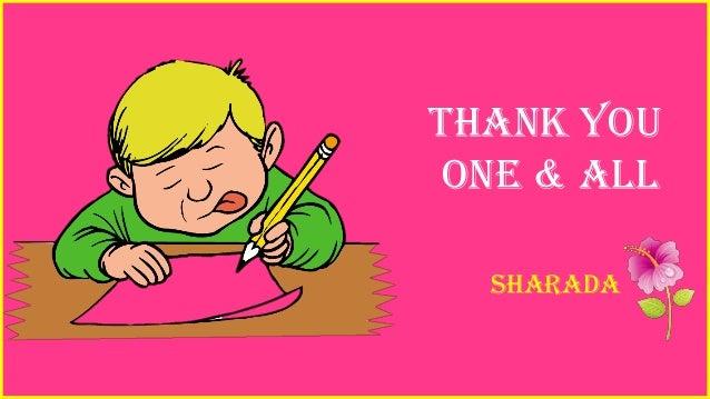 Thank you one & all sharada