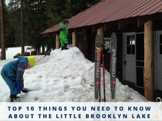 You'll have to carry or pull everything you'll need if you go by ski or snowshoe in the winter or spring.