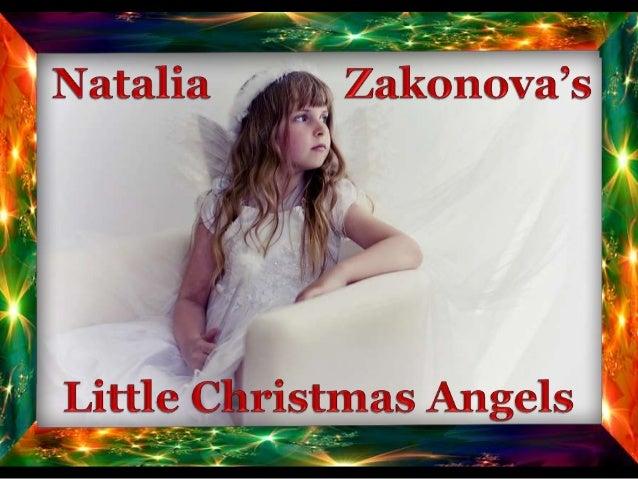 LITTLE CHRISTMAS ANGELS BY NATALIA ZAKONOVA
