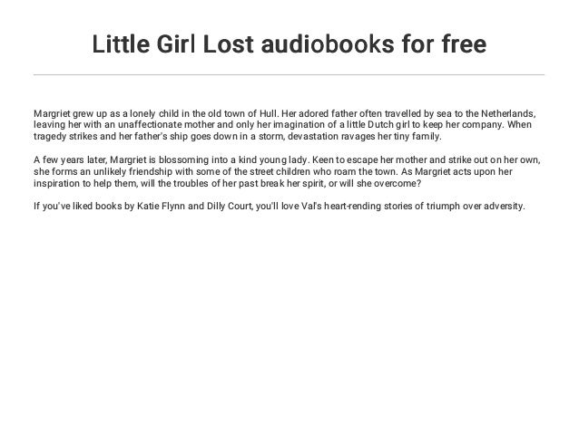 Little Girl Lost audiobooks for free