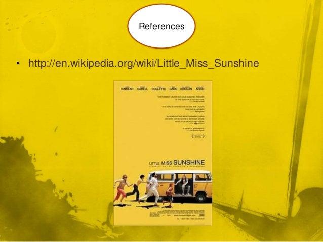 little miss sunshine analytical essay