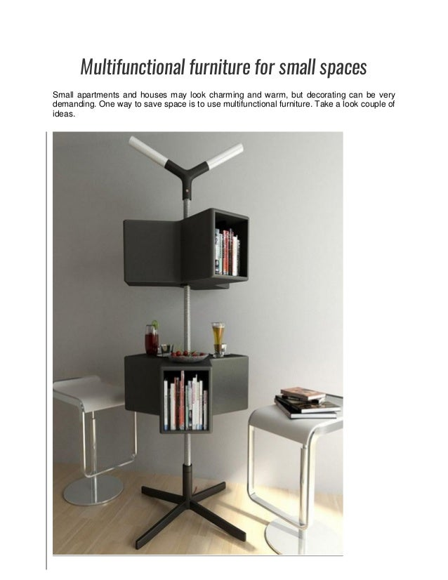 Littlepieceofme Com Multifunctional Furniture For Small Spaces
