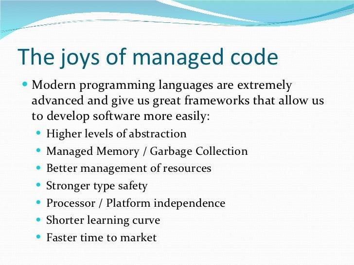 C#/.NET Little Pitfalls Slide 2