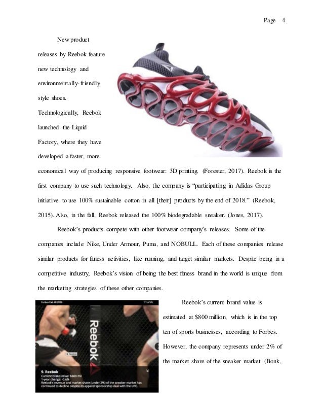 4. Page 4 New product releases by Reebok ... a5fcded71