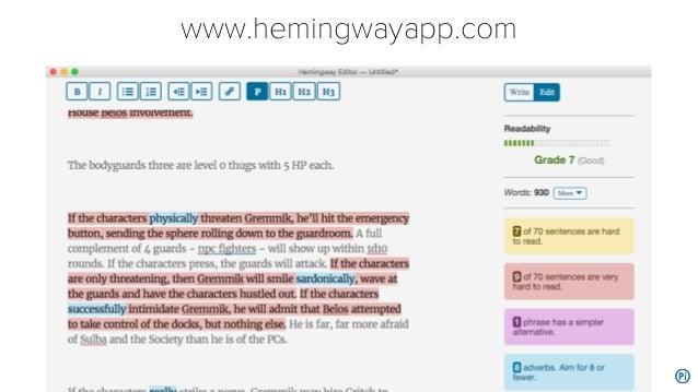 www.hemingwayapp.com