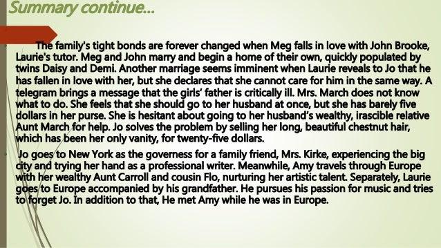 summary for little women