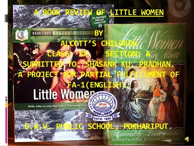 Little Women and Me Book Review   Changing the Ending Mental Floss Little Women  Great Classics for Children