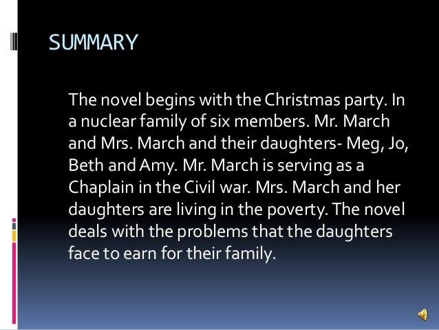 Little women story summary