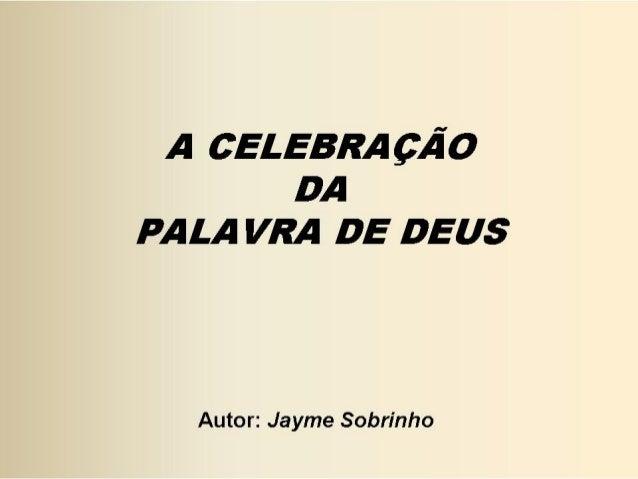 Liturgia   Celebração da Palavra de Deus
