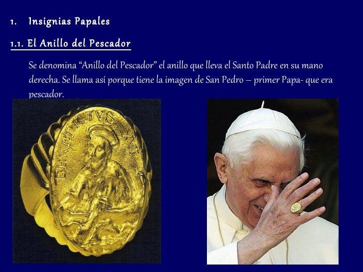 Liturgia papal - En que mano se lleva el anillo de casado ...