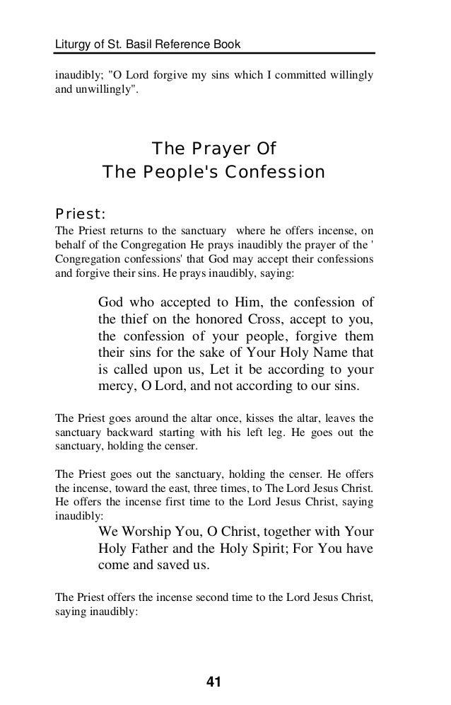 Liturgy of St Basil