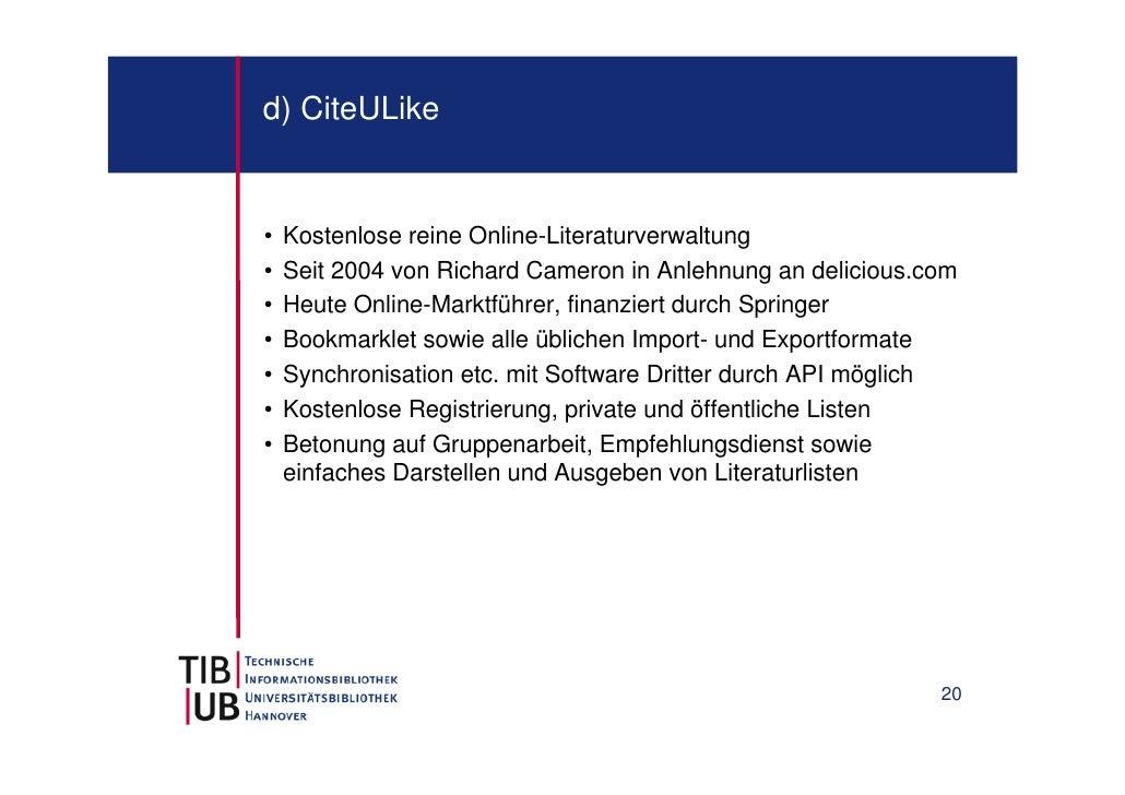 CiteULike API Developers | ProgrammableWeb