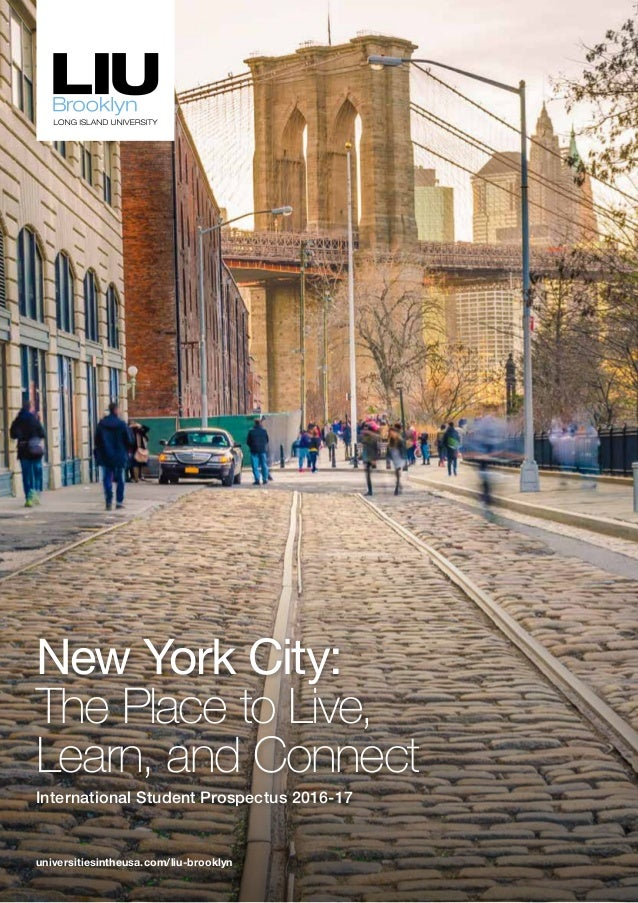 Long Island University brooklyn brochure
