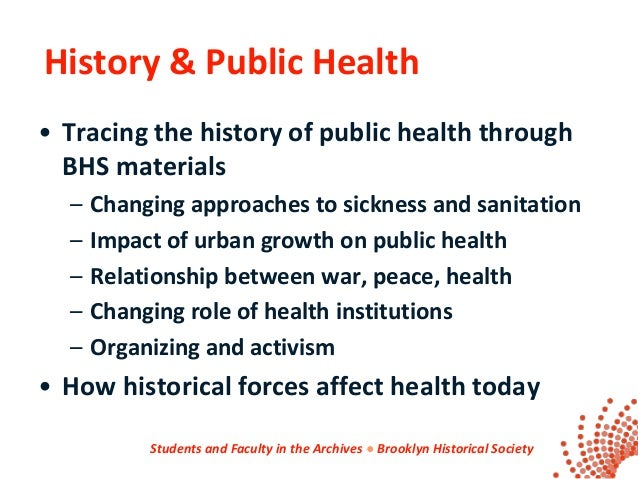 public health in history understanding public health