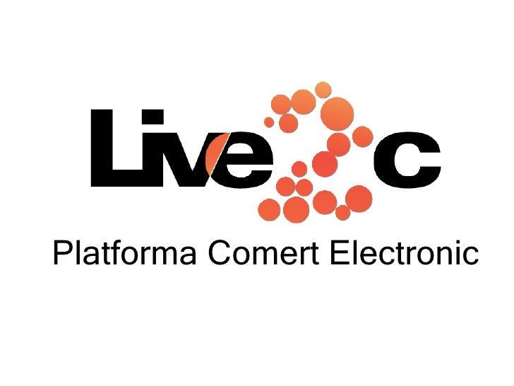 Platforma Comert Electronic