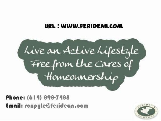 URL : www.feridean.comPhone: (614) 898-7488Email: ronpyle@feridean.com