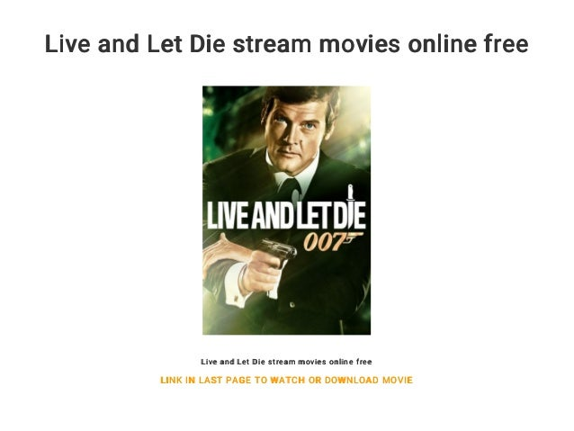 Live And Let Die Stream