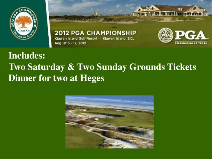 Includes:Two Saturday & Two Sunday Grounds TicketsDinner for two at Heges