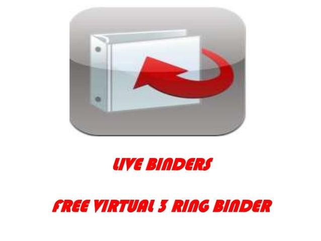 L       LIVE BINDERSFREE VIRTUAL 3 RING BINDER