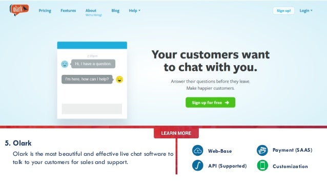 Live chat no sign up
