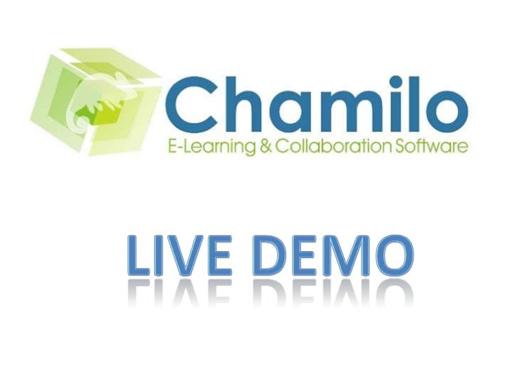 Chamilo 2.0 conceptOwn Repository          Applications                          Assessment      Content Objects       Cou...