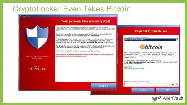 bitcoin cryptolocker