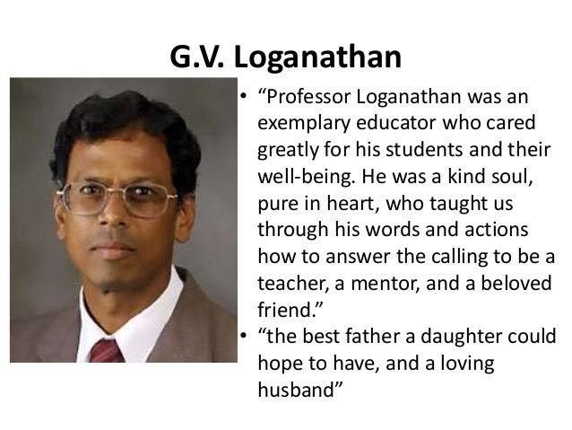 G. V. Loganathan