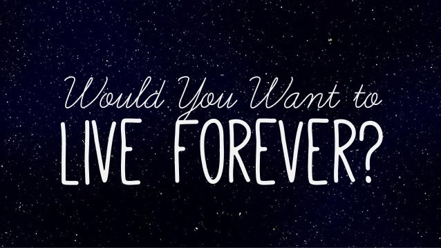 Would You Want to