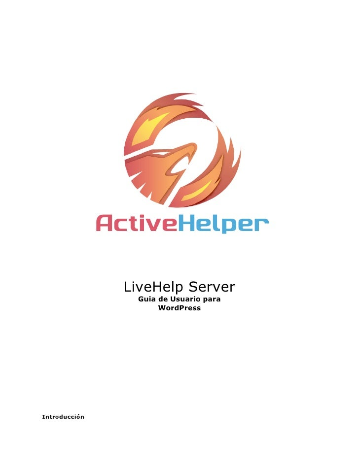 LiveHelp Server                Guia de Usuario para                     WordPressIntroducción