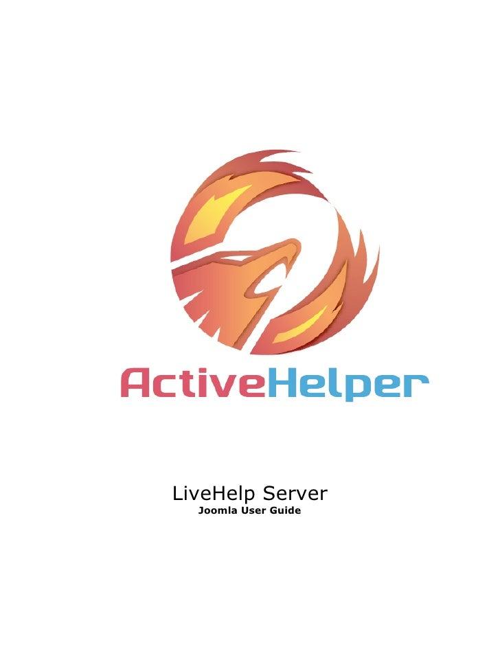 LiveHelp Server  Joomla User Guide