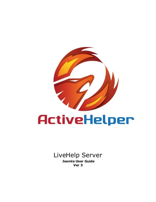 LiveHelp ServerJoomla User GuideVer 3