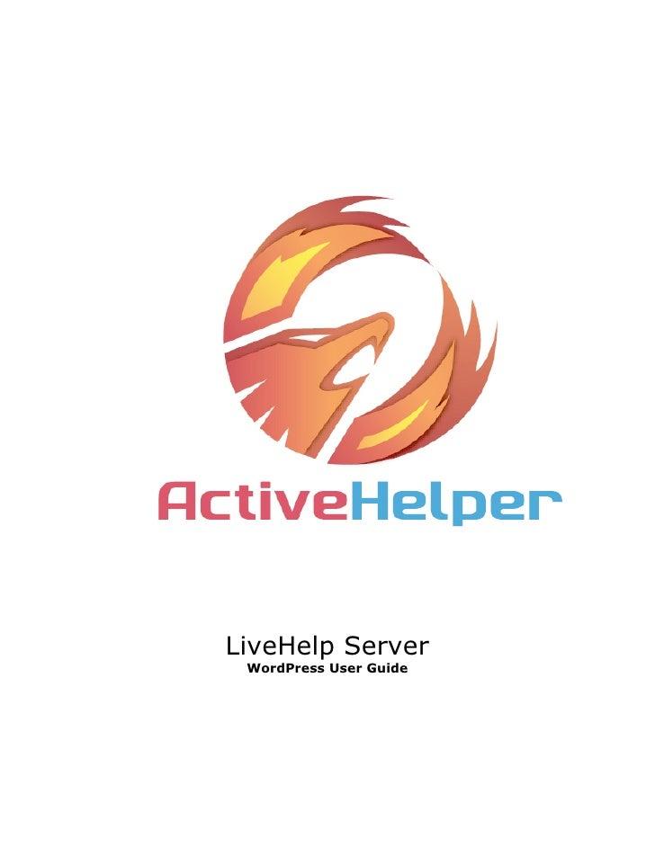 LiveHelp Server WordPress User Guide
