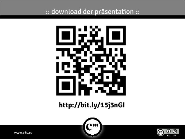 www.c3s.cc:: download der präsentation ::http://bit.ly/15j3nGI